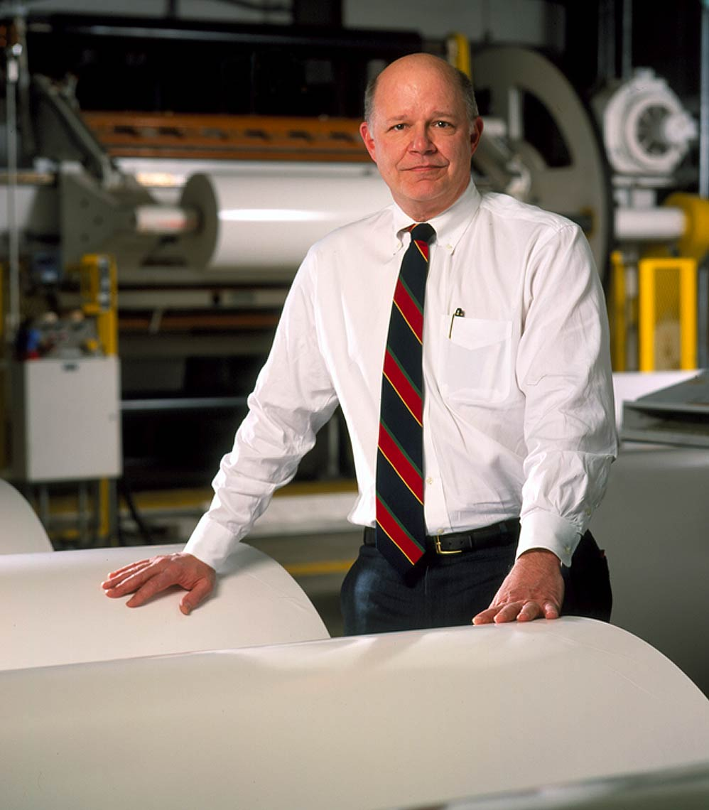 Paper mill CEO Portrait